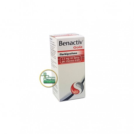 Benactiv Gola Spray 15ml 0,25%