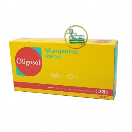 Labcatal Manganese Rame 28 fiale 2ml