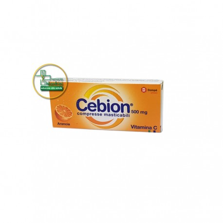 Cebion 500mg Compresse Masticabili Arancia 20 Compresse