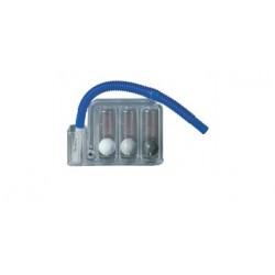 Tri-Ball per ginnastica respiratoria