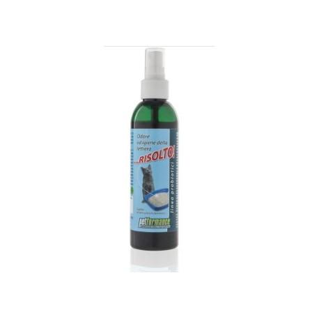 risolto spray odore lettiera