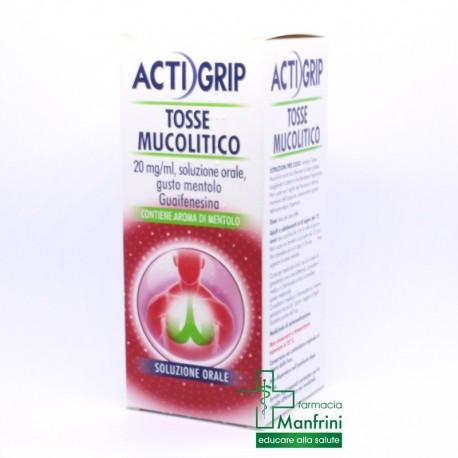 Actigrip TOSSE mucolitico