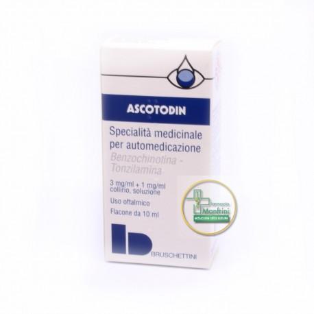 Ascotodin Collirio Previene Le Irritazioni Flacone 10ml