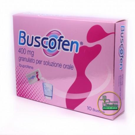 Buscofen 400mg Granulato Antidolorifico 10 Bustine