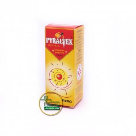 Pyralvex 0,5%+0,1% Soluzione Gengivale 10ml