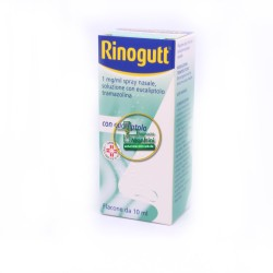 Rinogutt 1mg/ml Spray Nasale Con Eucalipto