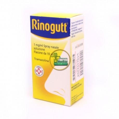 Rinogutt 1mg/ml Spray Nasale Soluzione 10ml