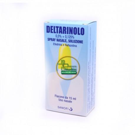 Sanofi Aventis Deltarinolo Spray Nasale Flacone 15ml
