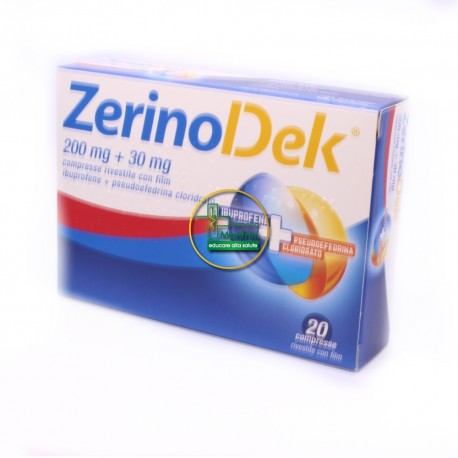 Zerinodek 200mg+30mg Dispositivo Medico 20 Compresse