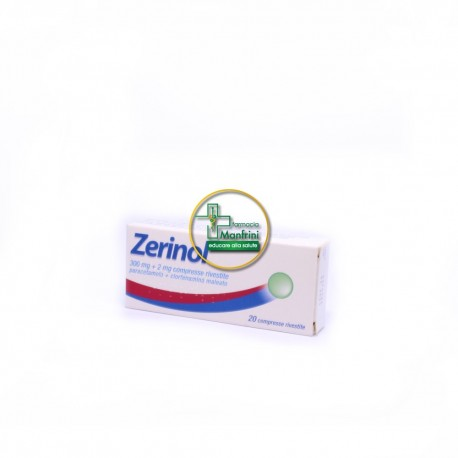 Zerinol 300mg+2mg 20 Compresse Rivestite