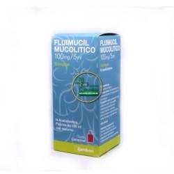 Zambon Fluimucil Sciroppo Mucolitico 100ml/5ml Flacone 200ml