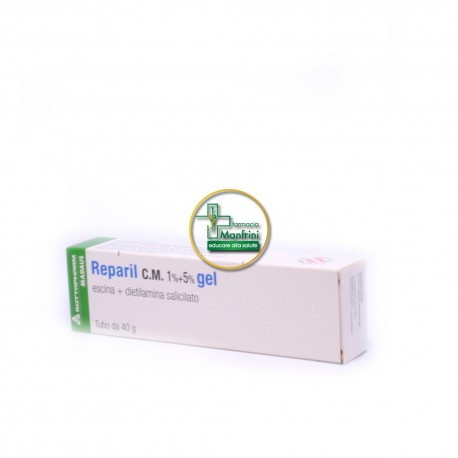 Rottapharm Reparil C.M. 1%+5% Gel 40g