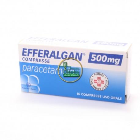 Efferalgan 16 cpr mg 500