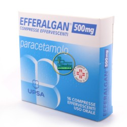 Efferalgan 16 cpr effervescenti mg 500