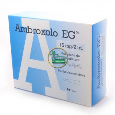 Ambroxolo EG 15 mg 2 ml 10 fiale