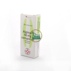 Alginor 50 mg 20 cpr