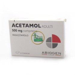 Acetamol 500 mg 20 cpr