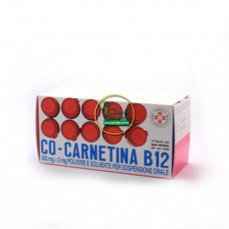 Co-carnetina B12 10 flaconcini