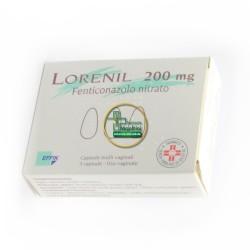 Lorenil 200 mg 3 cps molli vaginali