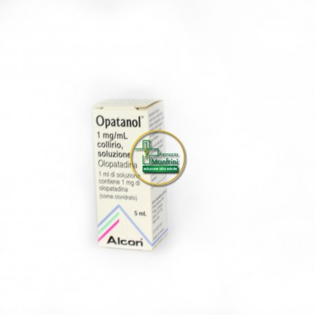 Opatanol 1mg/ml collirio ml 5