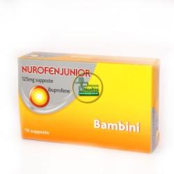 Nurofen Junior 125 mg bimbi 10 supposte