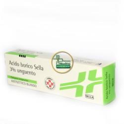 Acido Borico 3% Sella unguento dermatologico gr 30