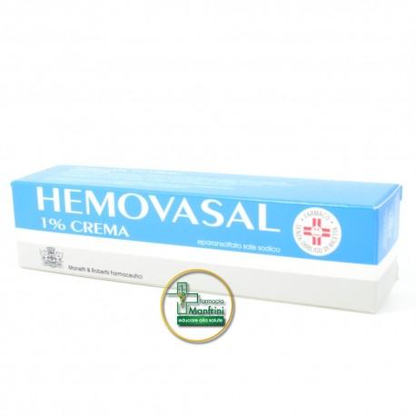 Hemovasal 1% Crema Tubo 30g