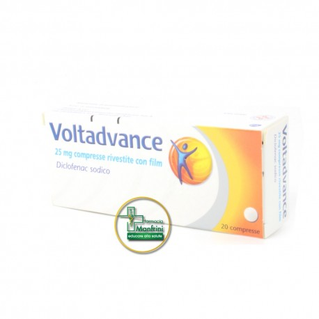 Voltadvance 20 Compresse Rivestite Da 25mg