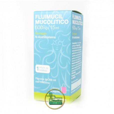 Fluimucil Mucolitico 600mg/ 15ml Sciroppo