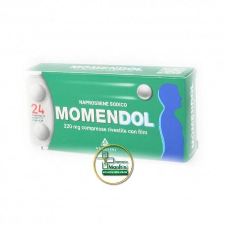 MomenDOL 220mg Naprossene Sodico 24 Compresse Rivestite