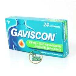 Gaviscon Gusto Menta 24 Compresse Masticabili