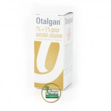 Otalgan 1%+5% Gocce Auricolari Soluzione 6g