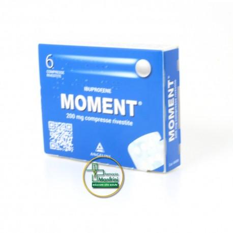 Moment 200mg Ibuprofene 6 Compresse Rivestite
