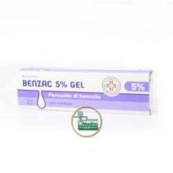 Benzac Gel 5% Disinfezione Della Cute Tubetto 40g