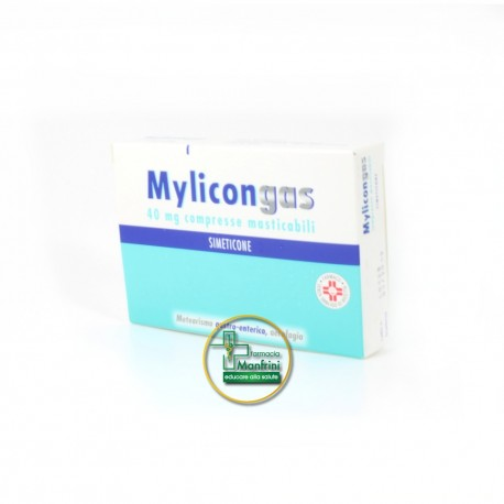 Mylicongas 40mg Integratore Alimentare 50 Compresse Masticabili