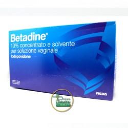 Meda Betadine 10% Concentrato E Solvente Per Soluzione Vaginale 5 Flaconi + 5 Fialette + 5 Cannule