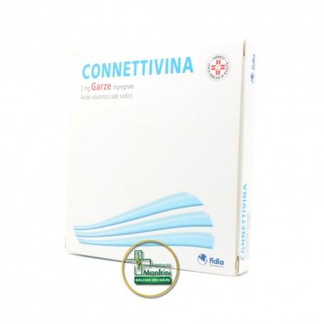 Fidia Connettivina 10 Garze 2mg 10x10
