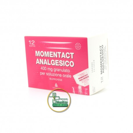 MomentACT Analgesico 400mg Analgesico-Antinfiammatorio