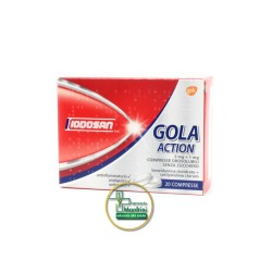 Iodosan Gola Action 3mg+1mg Trattamento Antinfiammatorio Della Gola