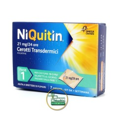 NiQuitin CQ 14mg/24h 7 Cerotti Transdermici