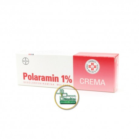 Polaramin 1% Crema Dermatologica 25g