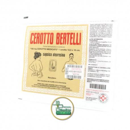 Kelémata Cerotto Bertelli Medio Uso Topico Per Dolori Articolari E Muscolari Cerotto 16x12cm