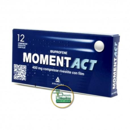 MomentACT 400mg Ibuprofene 12 Compresse Rivestite
