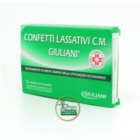 Giuliani Confetti Lassativi C.M. 20 Confetti