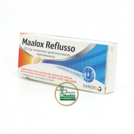 Maalox Reflusso 20mg 7 Compresse Gastroresistenti
