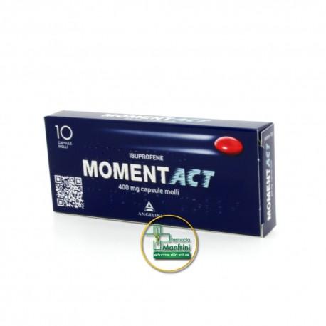 MomentACT 400mg 10 Capsule Molli